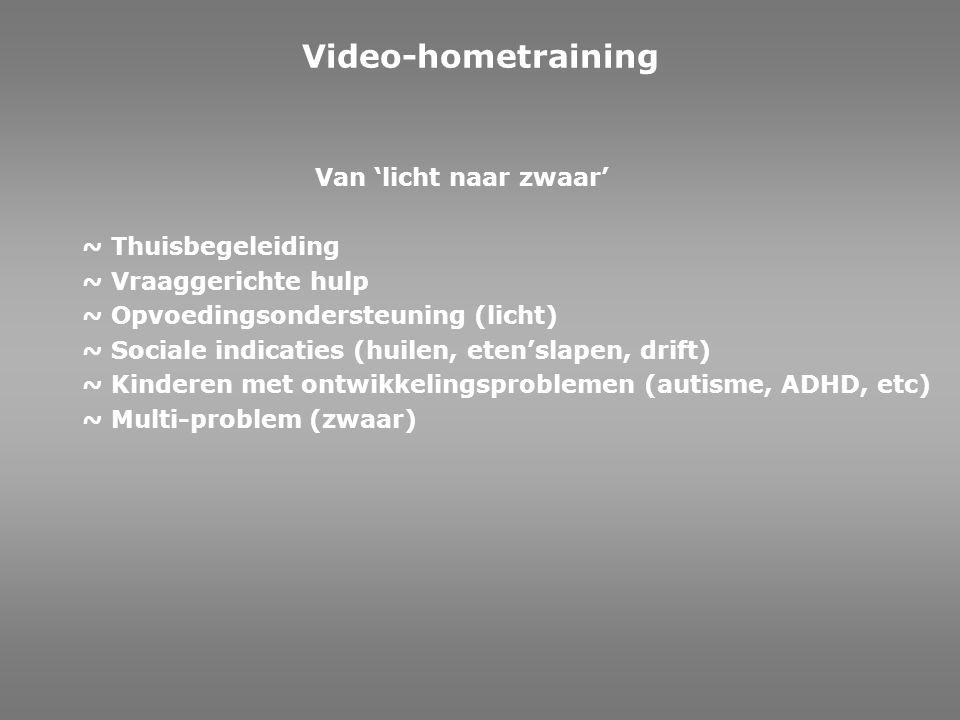 Video-hometraining Van 'licht naar zwaar' ~ Thuisbegeleiding