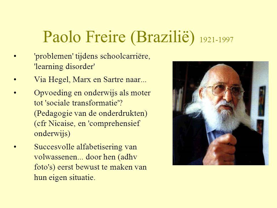 Paolo Freire (Brazilië) 1921-1997