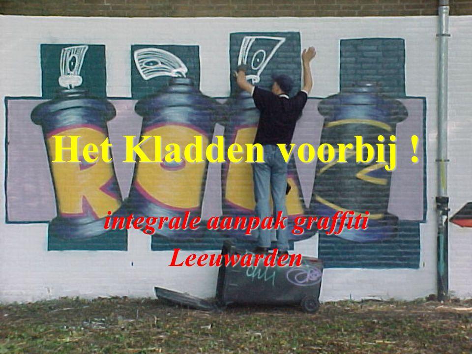 integrale aanpak graffiti Leeuwarden