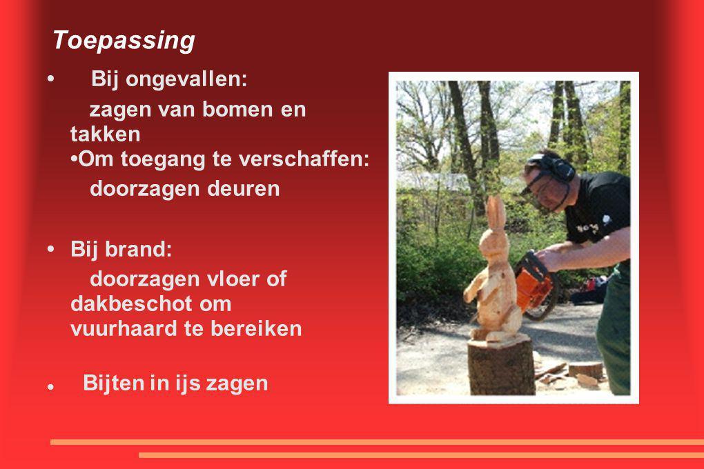 Toepassing • Bij ongevallen: