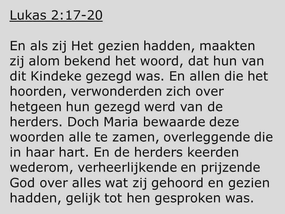 Lukas 2:17-20