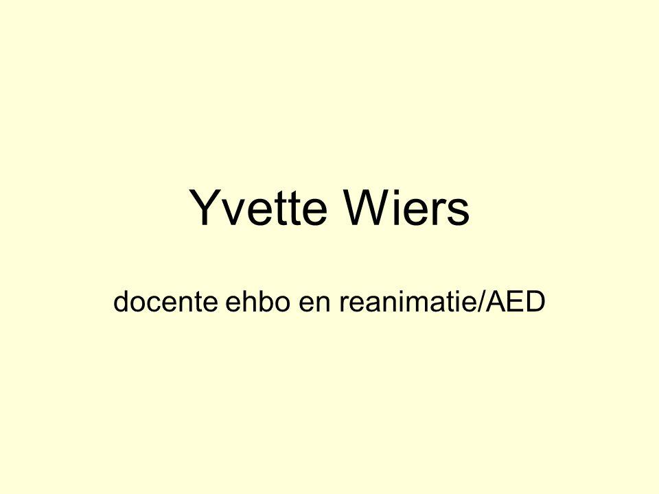 docente ehbo en reanimatie/AED