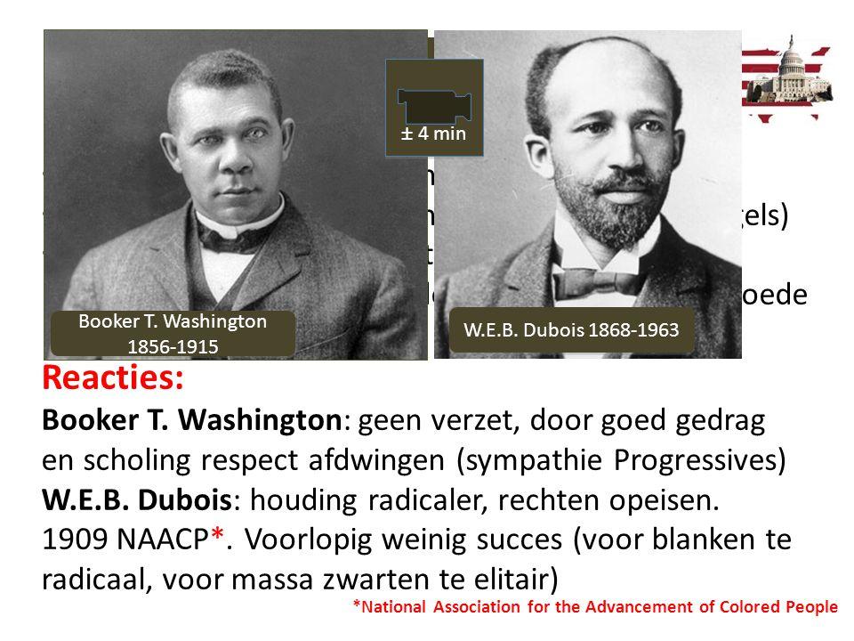Reacties: De periode 1865-1918 2.3 Vrij, maar achtergesteld