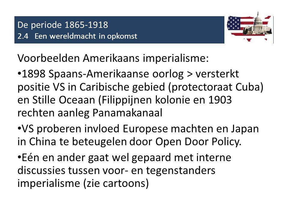 De periode 1865-1918 2.4 Een wereldmacht in opkomst