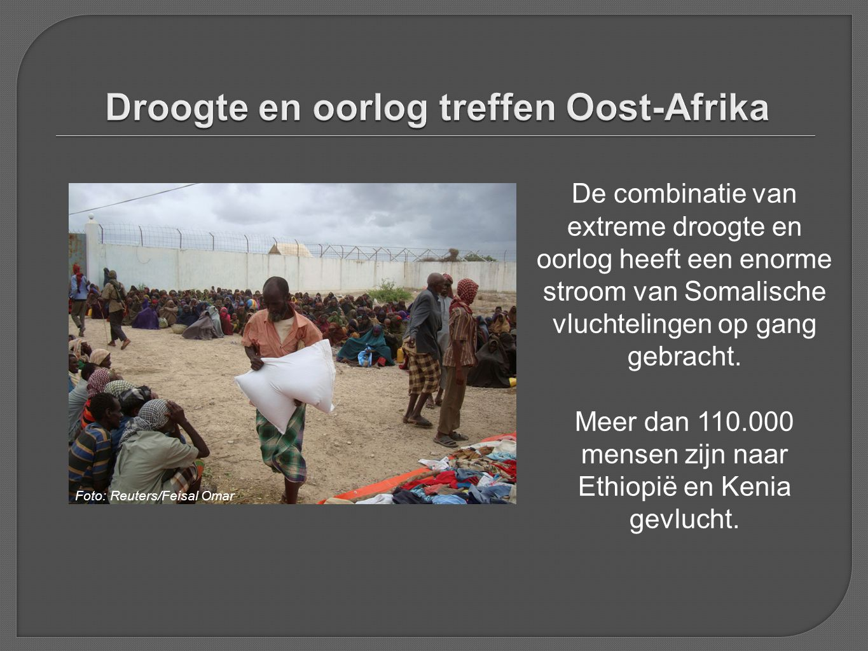 Droogte en oorlog treffen Oost-Afrika