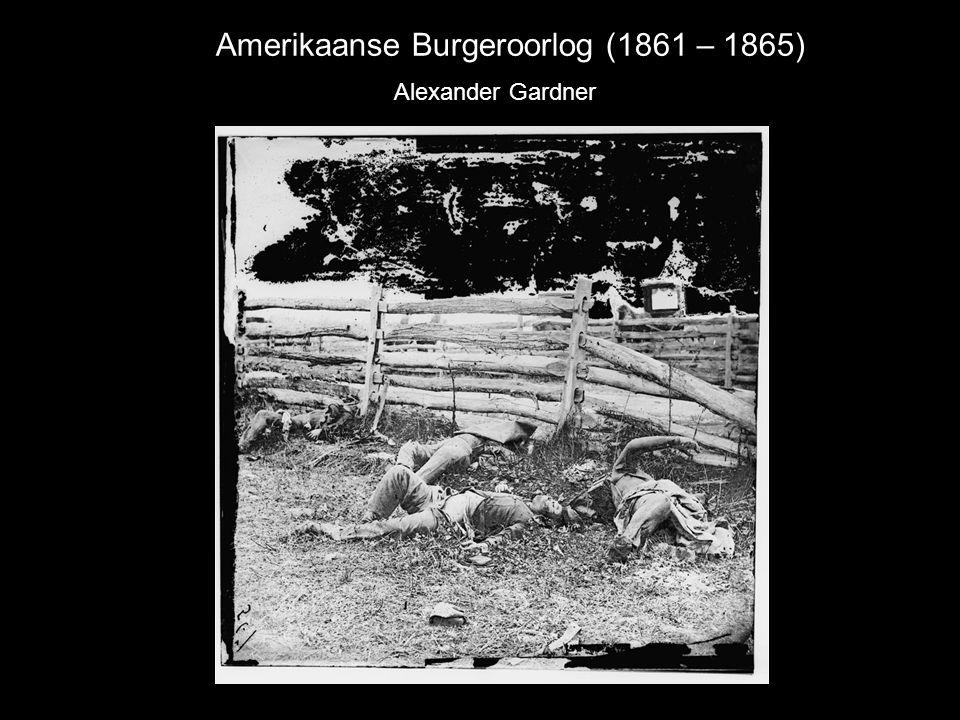 Amerikaanse Burgeroorlog (1861 – 1865)