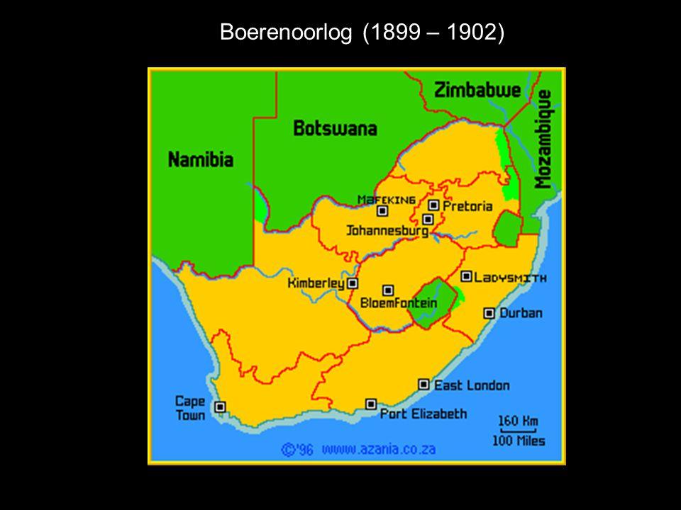 Boerenoorlog (1899 – 1902)
