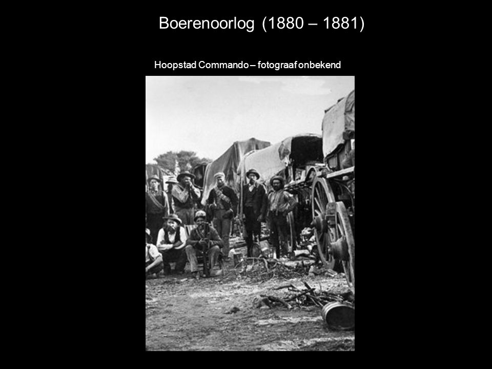 Hoopstad Commando – fotograaf onbekend