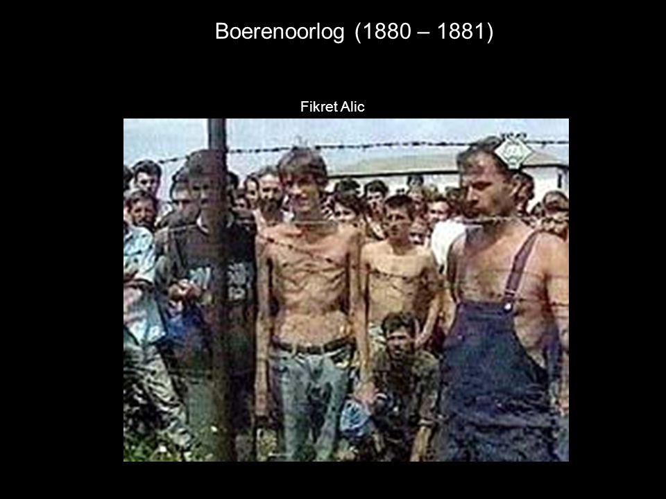 Boerenoorlog (1880 – 1881) Fikret Alic