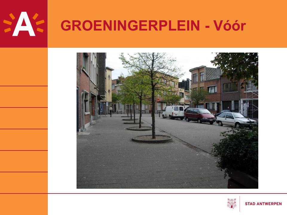 GROENINGERPLEIN - Vóór