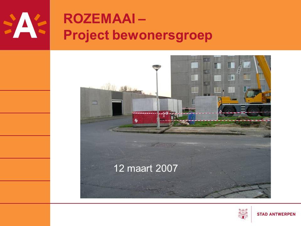 ROZEMAAI – Project bewonersgroep