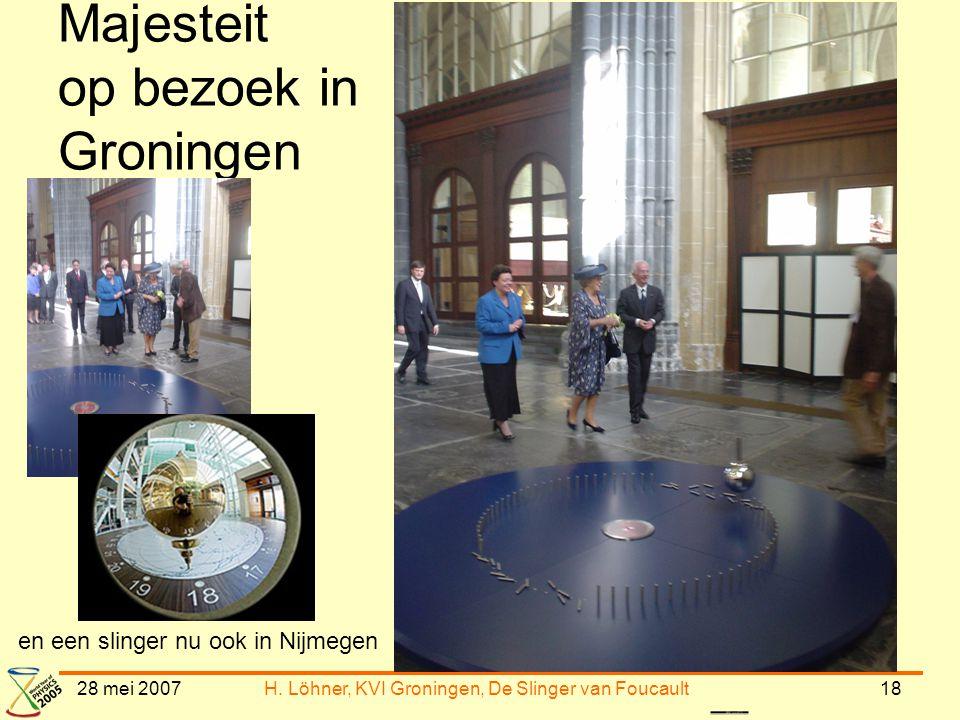Majesteit op bezoek in Groningen