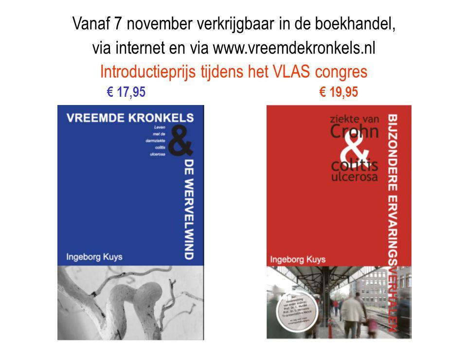 Vanaf 7 november verkrijgbaar in de boekhandel,