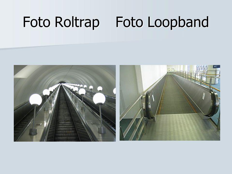 Foto Roltrap Foto Loopband