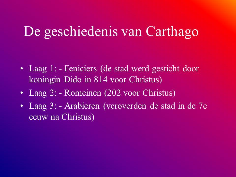 De geschiedenis van Carthago