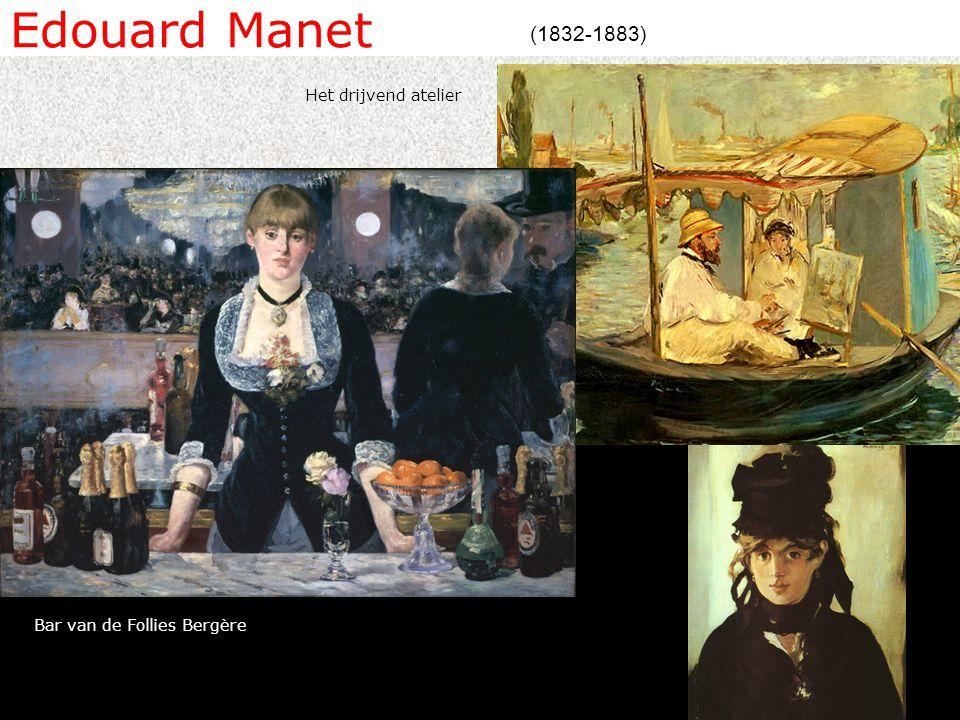 Edouard Manet (1832-1883) Het drijvend atelier