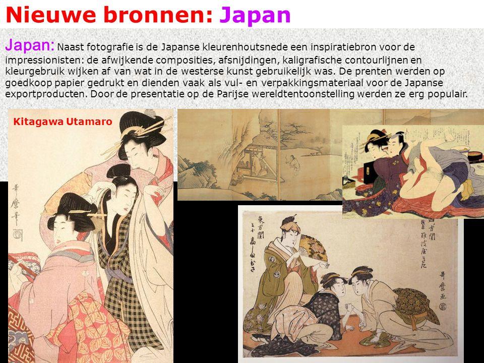 Nieuwe bronnen: Japan