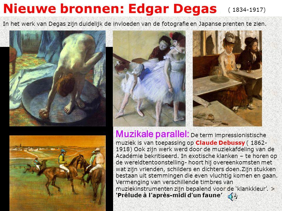 Nieuwe bronnen: Edgar Degas