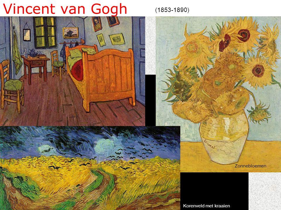 Vincent van Gogh (1853-1890) Zonnebloemen Korenveld met kraaien