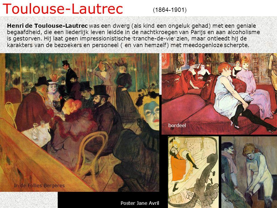 Toulouse-Lautrec (1864-1901)