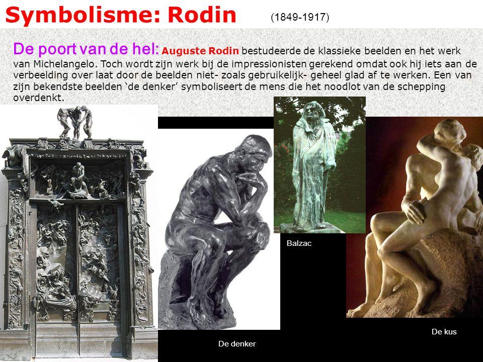 Symbolisme: Rodin (1849-1917)