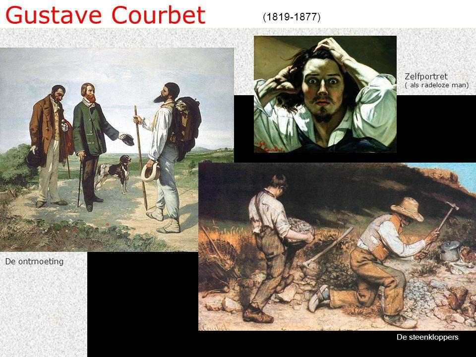 Gustave Courbet (1819-1877) Zelfportret ( als radeloze man)