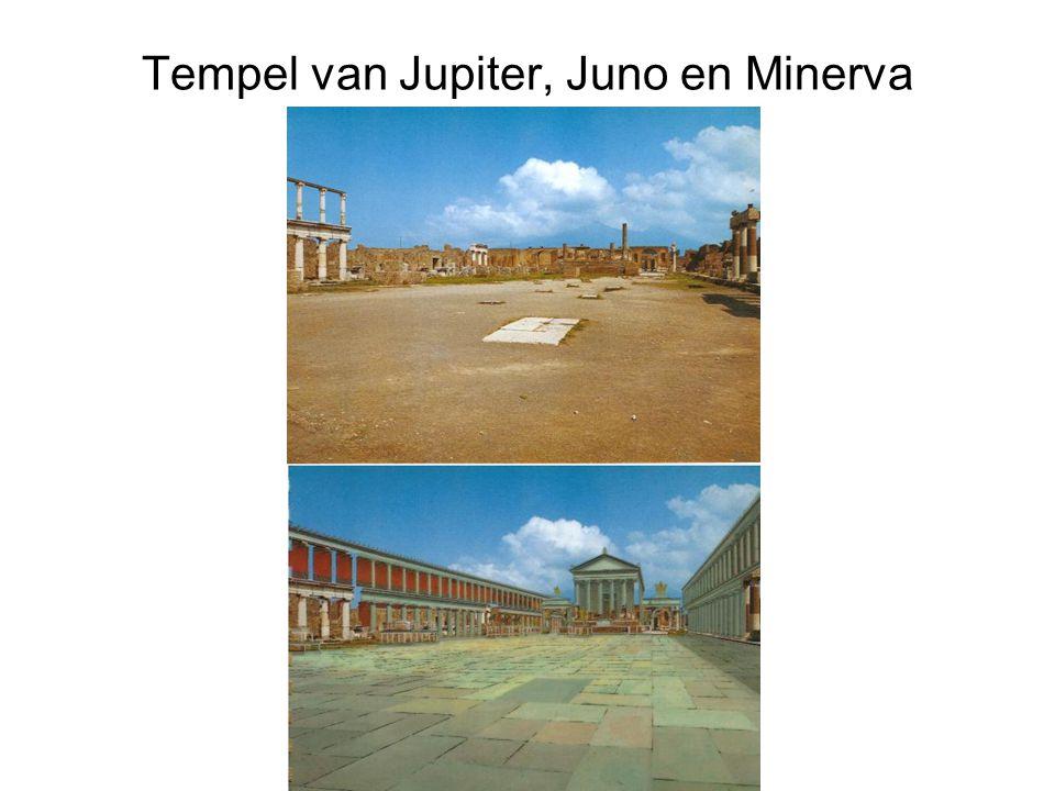Tempel van Jupiter, Juno en Minerva