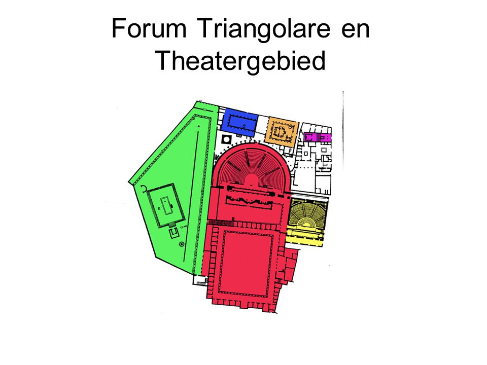 Forum Triangolare en Theatergebied