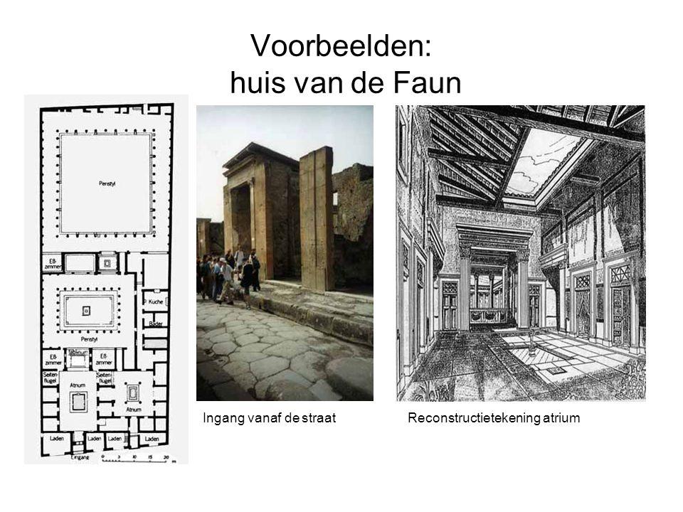 Voorbeelden: huis van de Faun