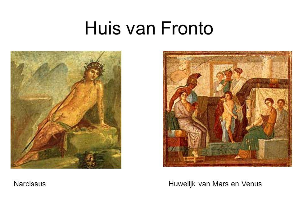 Huis van Fronto Narcissus Huwelijk van Mars en Venus