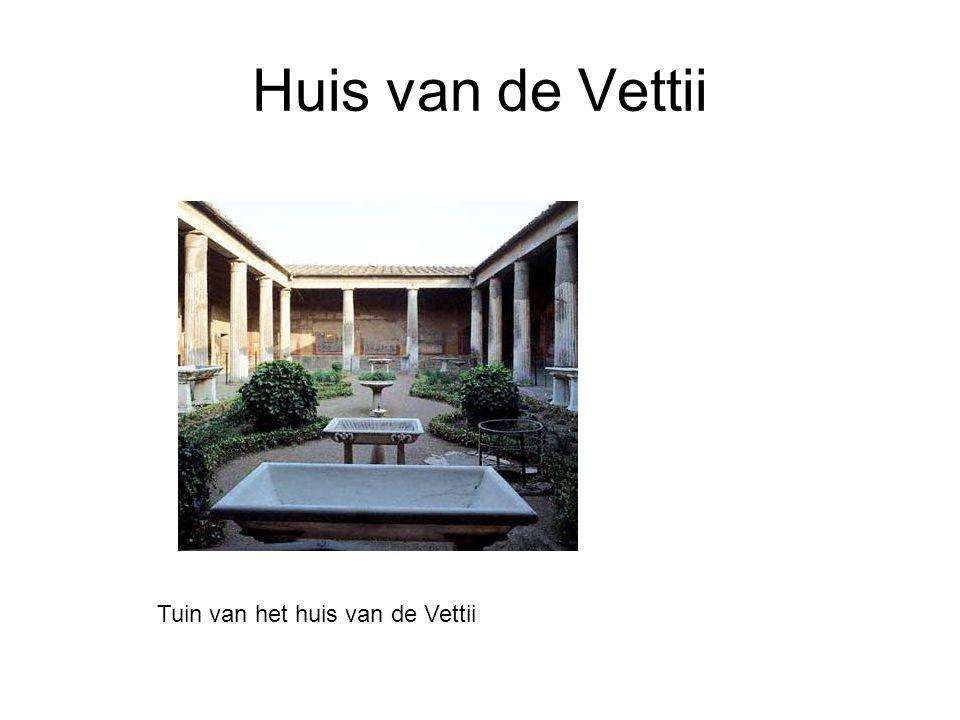 Huis van de Vettii Tuin van het huis van de Vettii