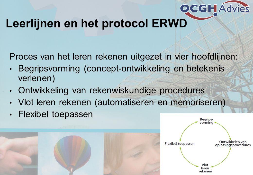 Leerlijnen en het protocol ERWD