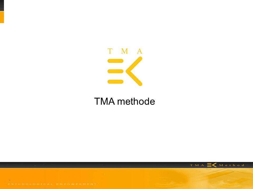 TMA methode Vraag aan de zaal: wat zijn talenten