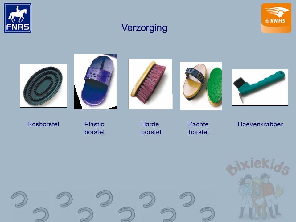 Verzorging Rosborstel Plastic borstel Harde borstel Zachte borstel