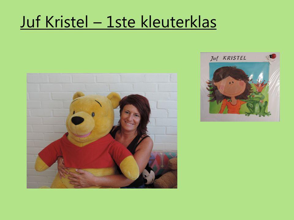 Juf Kristel – 1ste kleuterklas