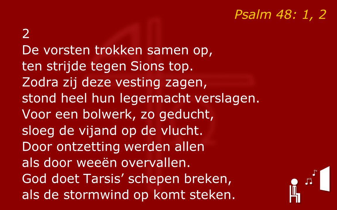 Psalm 48: 1, 2