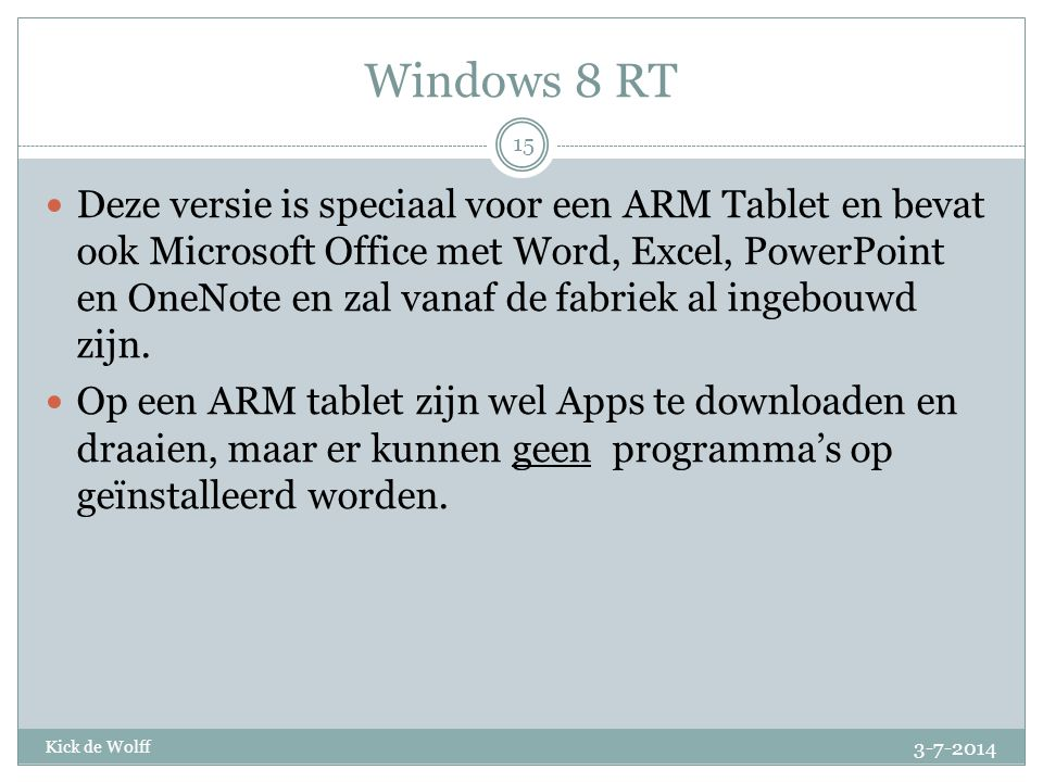 Windows 8 RT