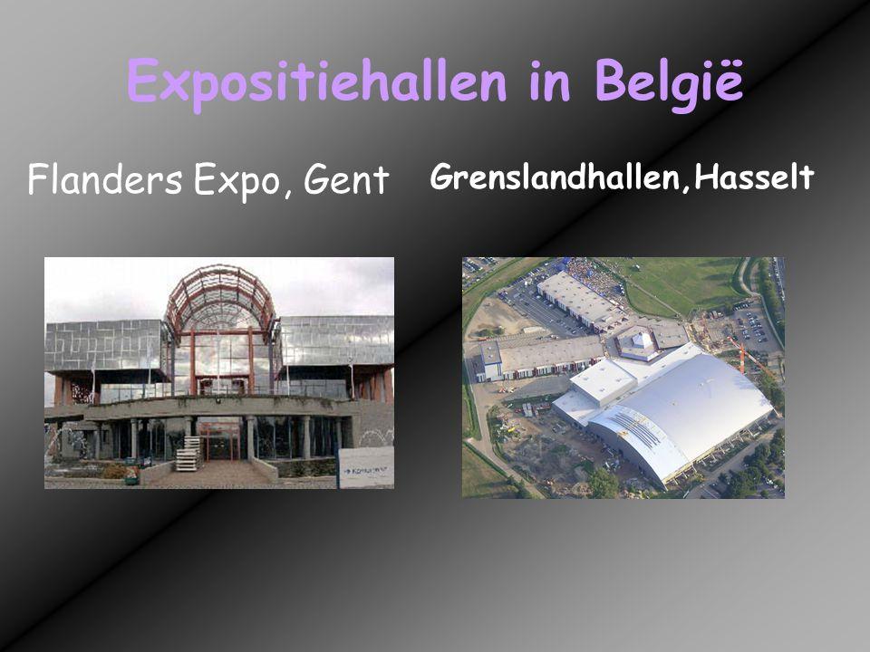 Expositiehallen in België