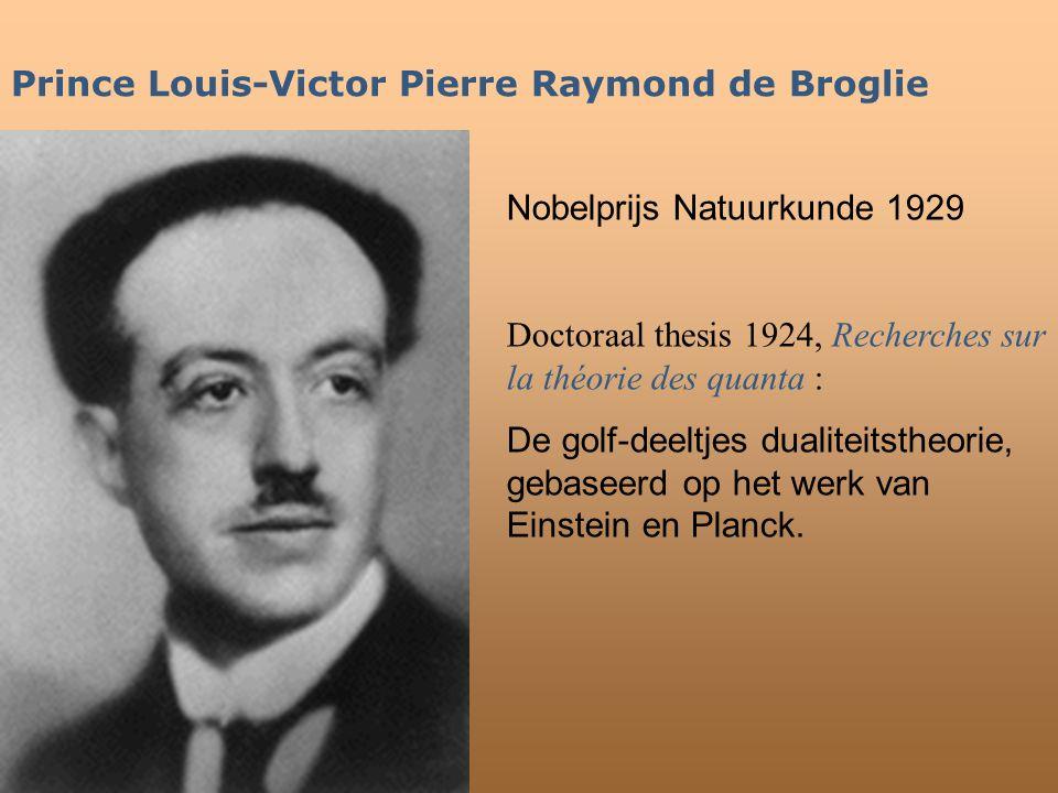 Prince Louis-Victor Pierre Raymond de Broglie