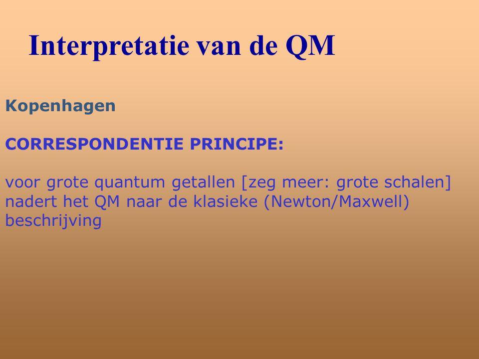 Interpretatie van de QM