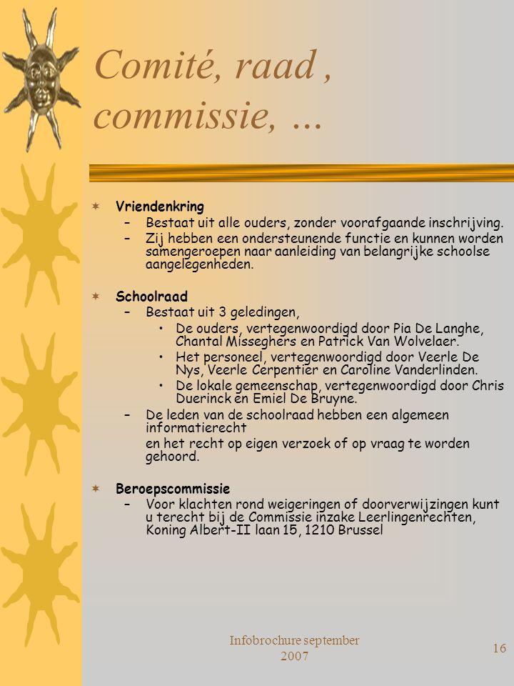 Comité, raad , commissie, …