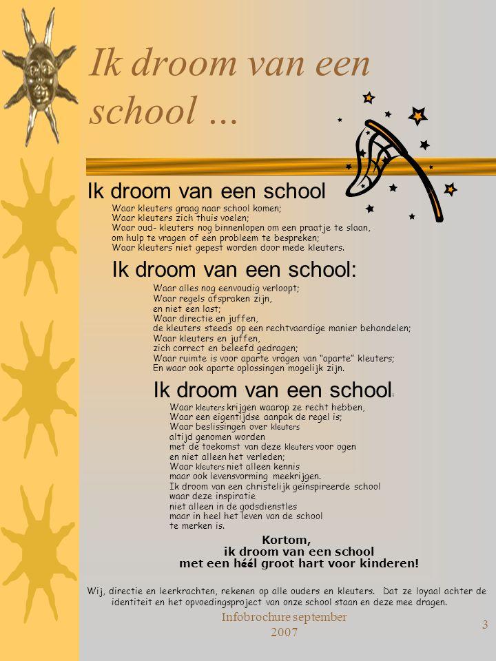 Ik droom van een school …