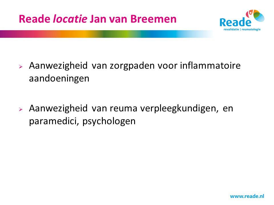 Reade locatie Jan van Breemen