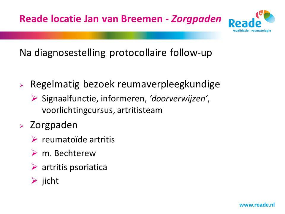 Reade locatie Jan van Breemen - Zorgpaden