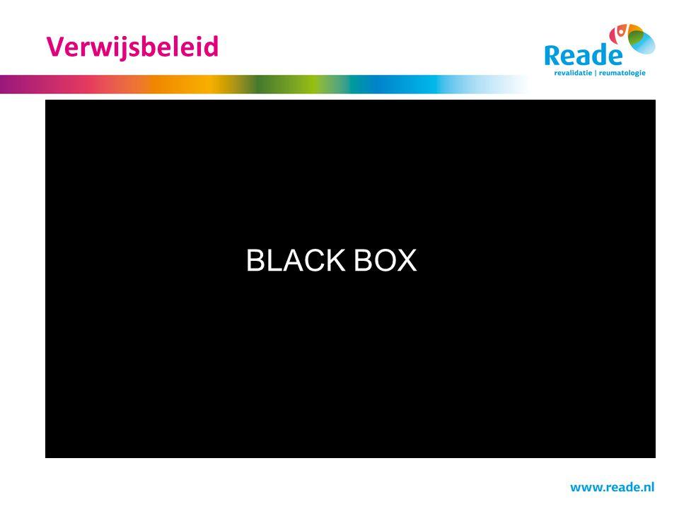 Verwijsbeleid BLACK BOX