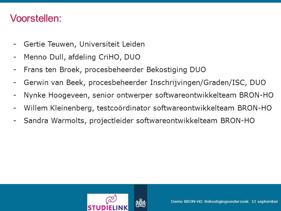 Voorstellen: Gertie Teuwen, Universiteit Leiden