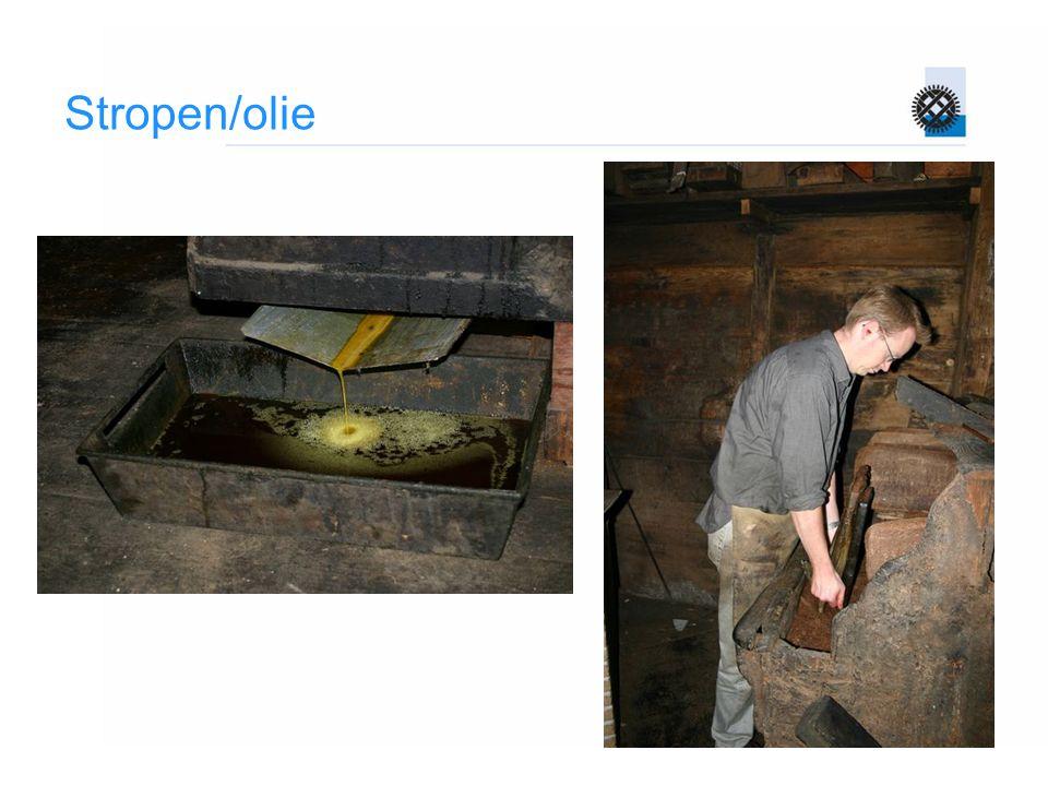 Stropen/olie