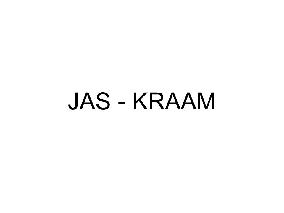 JAS - KRAAM