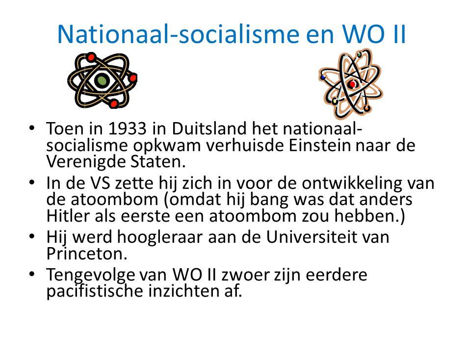 Nationaal-socialisme en WO II