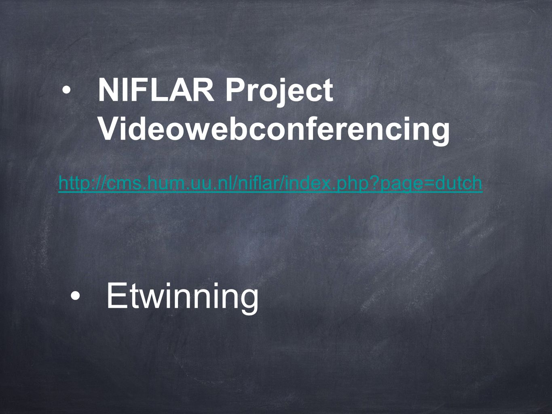 NIFLAR Project Videowebconferencing